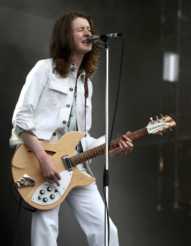 Blossoms perform on the main stage at the TRNSMT music festival in 2017 (Andrew Milligan/PA)