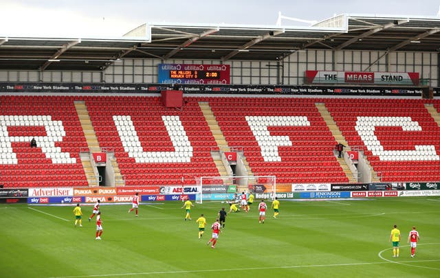 Rotherham are gearing for the return of supporters at New York Stadium