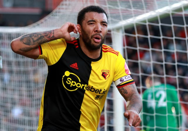 Watford captain Troy Deeney is fit and ready to feature against Leicester.