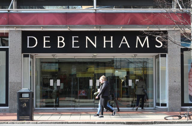 Debenhams wins court case