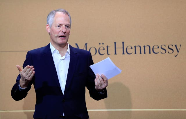Moet Hennessy president and CEO Philippe Schaus