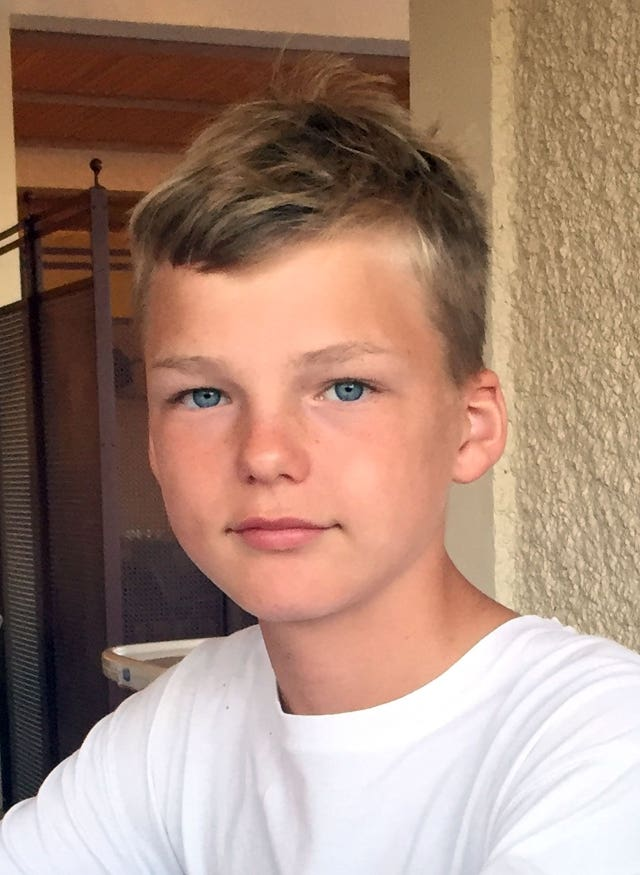 Thirteen-year-old Alexander Worth (Hampshire Police/PA)
