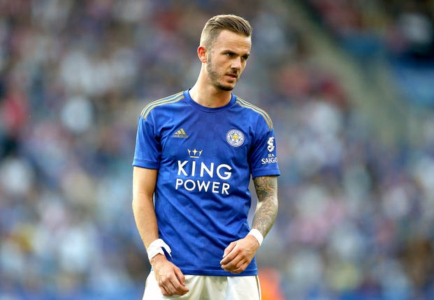James Maddison has yet to feature for England despite his sparkling form for Leicester