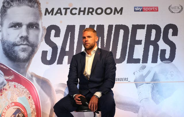 Billy Joe Saunders apologised for any offence caused