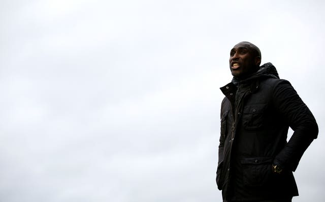 Sol Campbell had been in charge at Roots Hall since October