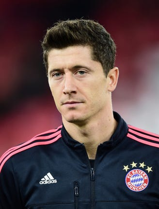 Robert Lewandowski will look to cause Spurs problems