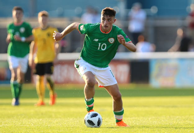 Republic of Ireland Under-21 international Troy Parrott is one to watch at Spurs
