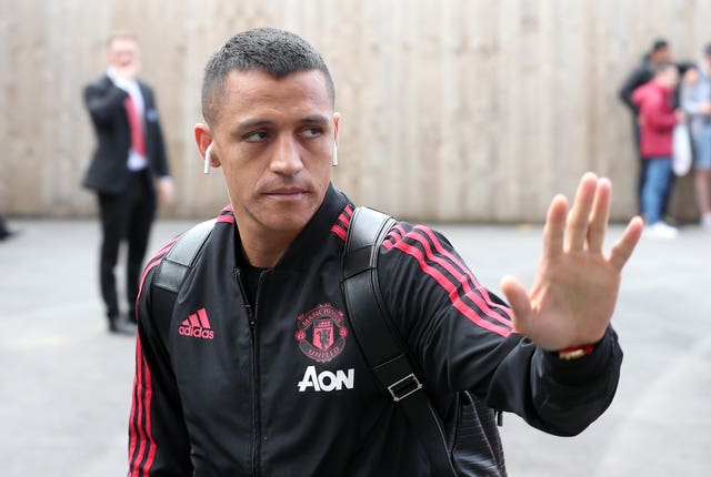 There was a watching brief for Alexis Sanchez