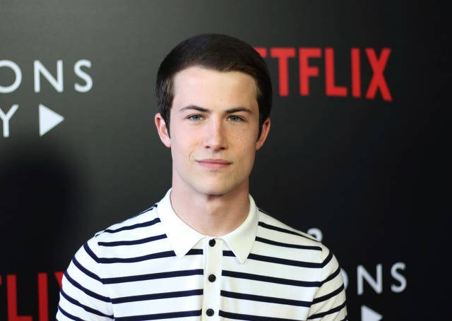 13 Reasons Why star Dylan Minnette attended a panel about the show in Los Angeles (Willy Sanjuan/Invision/AP)