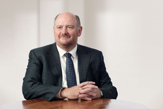 Richard Cousins died alongside his fiancee, his two sons and her 11-year-old daughter (Compass Group/PA)