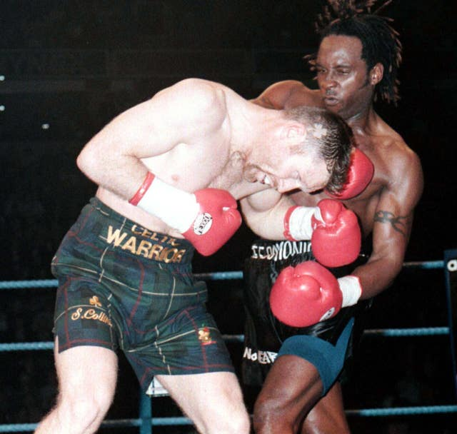 Nigel Benn's most recent fight was against Steve Collins in 1996