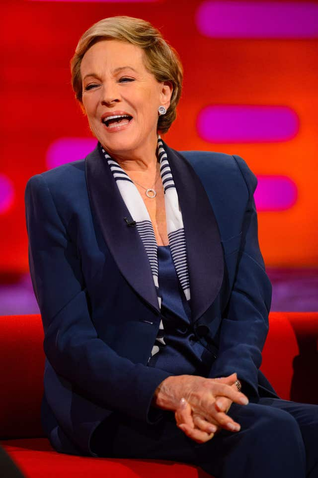 Dame Julie Andrews on the Graham Norton Show – London