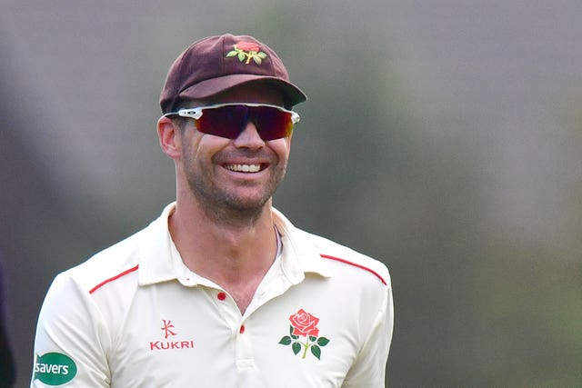 James Anderson has been playing for Lancashire's second XI