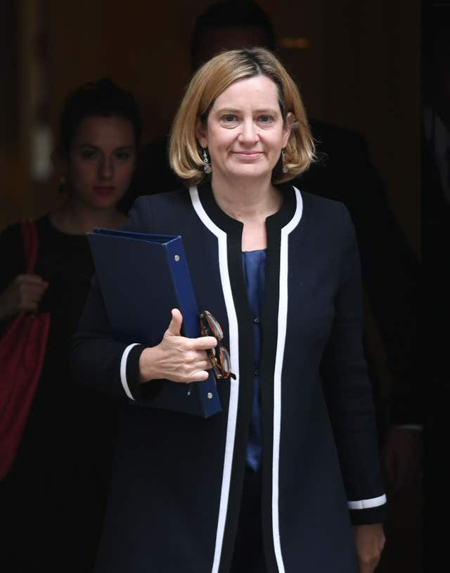 Amber Rudd interview