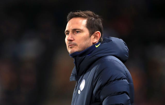 Frank Lampard did not want to focus on the January transfer window