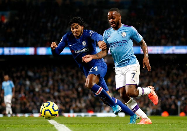 Raheem Sterling, right, is one of the best players in the world