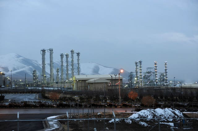 The heavy water nuclear facility near Arak, Iran (Hamid Faroutan/AP)