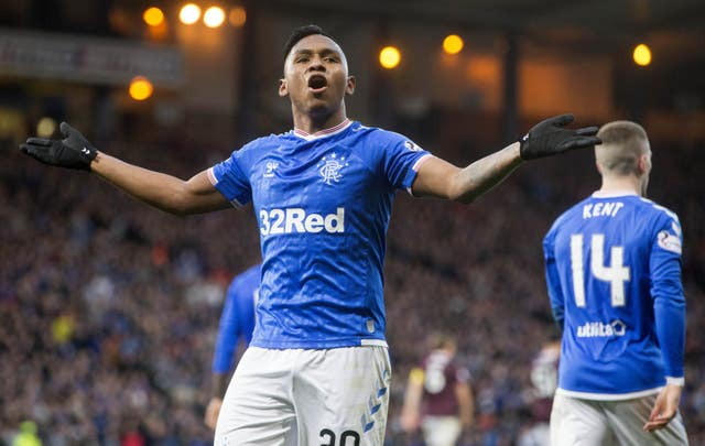 Alfredo Morelos scored twice as Rangers beat Hearts to set up an Old Firm showdown in the Scottish Betfred Cup final
