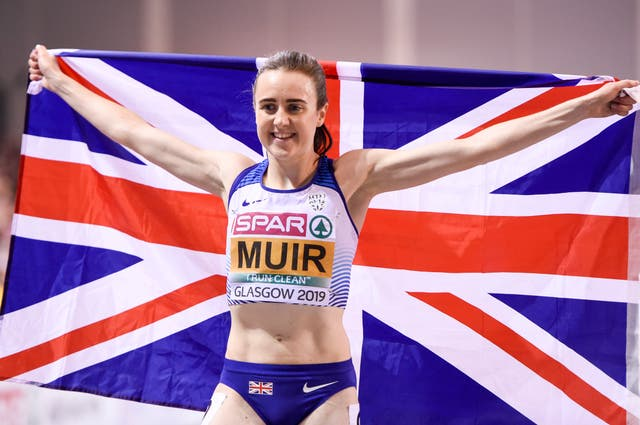 Great Britain's Laura Muir hopes to fly the flag for Scotland in Tokyo