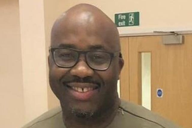 "Undated handout photo issued by GoFundMe of Andrew Ekene Nwankwo, an NHS nurse known as the ""big friendly giant"", who has died with coronavirus aged 46"