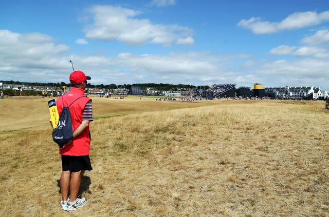 The Open Championship fairways at Carnoustie