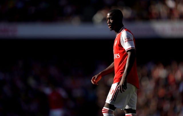 Nicolas Pepe will hope to start for Arsenal at Watford