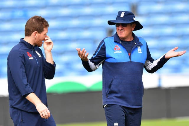 Eoin Morgan and Trevor Bayliss are not focusing on the World Cup just yet