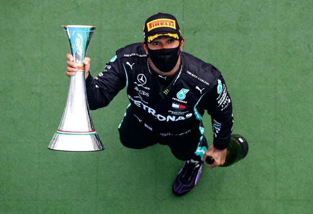 Hamilton already has two victories in the 2020 Formula One season