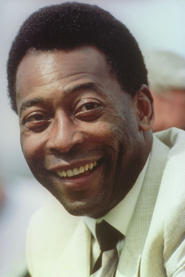 Pele retired from international football in 1971