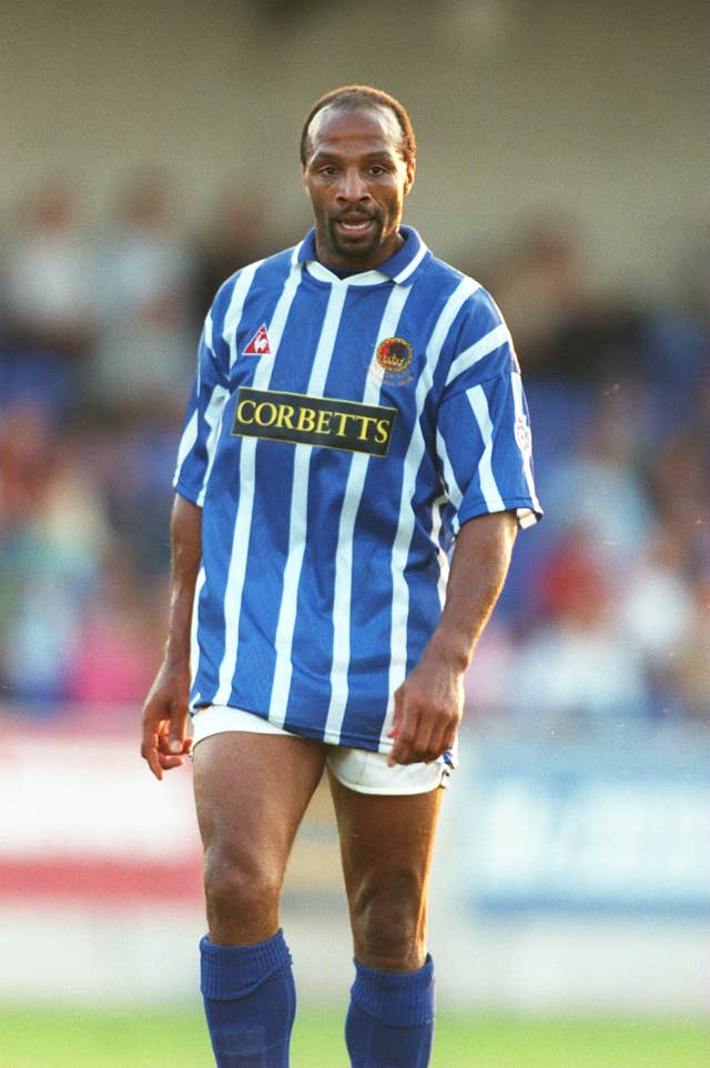 A short stay at Chester in the mid-1990s saw Regis score seven goals in 29 games