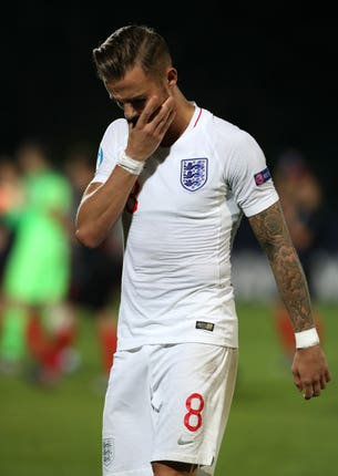 Maddison withdrew from the England squad through illness