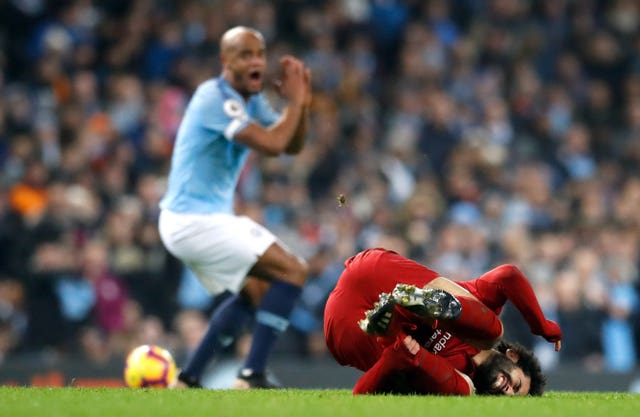 Vincent Kompany thought his challenge was acceptable
