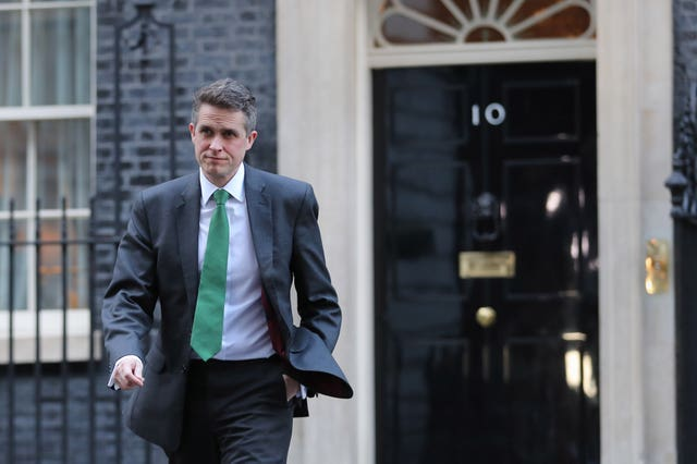 Education Secretary Gavin Williamson (Aaron Chown/PA Wire)