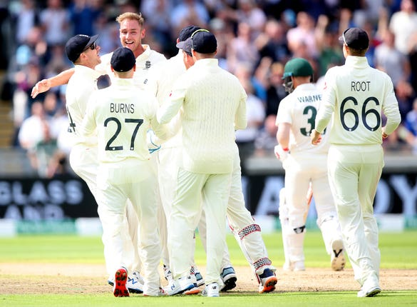 Stuart Broad made a flying start to the series