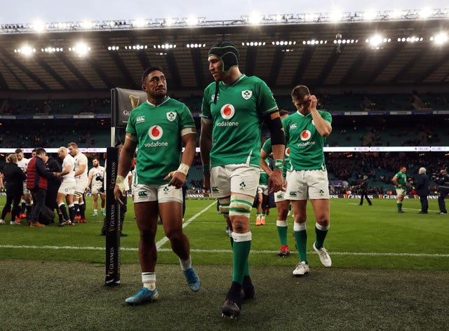 Ireland's Triple Crown hopes came to an end at Twickenham