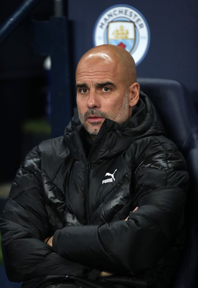 Pep Guardiola has yet to win the Champions League with Manchester City