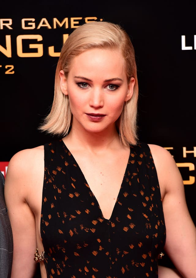Jennifer Lawrence attending the UK premiere of The Hunger Games: Mockingjay, Part 2