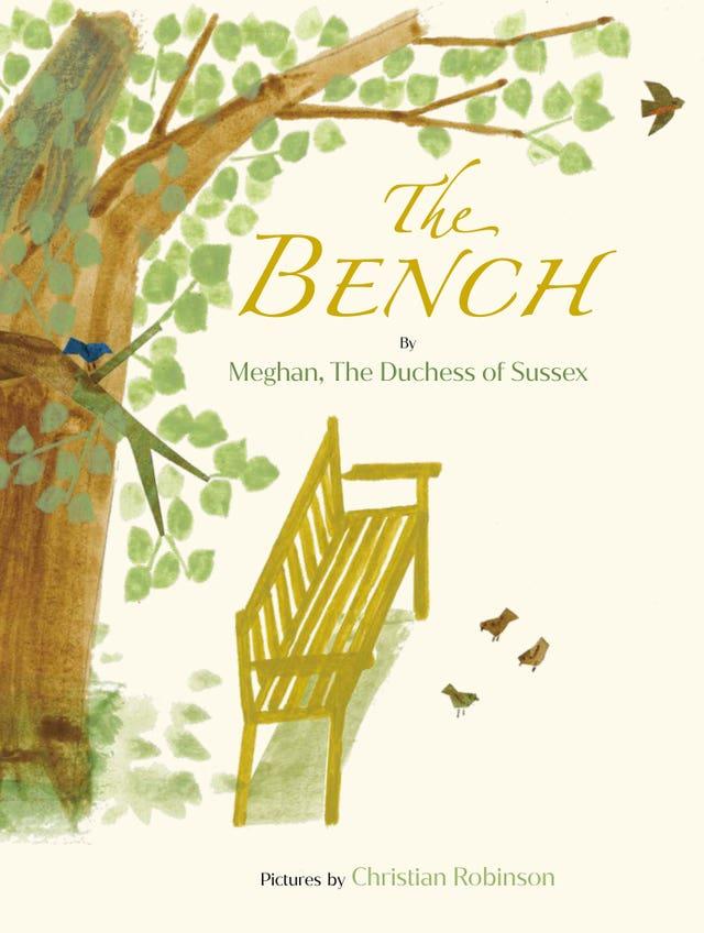 Duchess of Sussex writes children's book The Bench