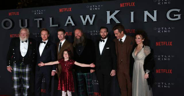 Outlaw King cast and director