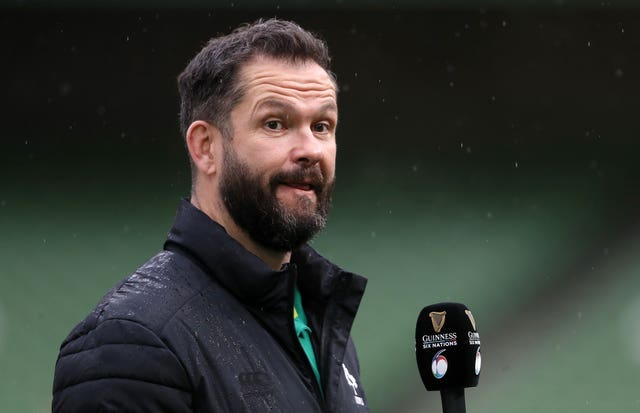 Ireland head coach Andy Farrell named a 37-man squad for Tests against Japan and the United States on Monday