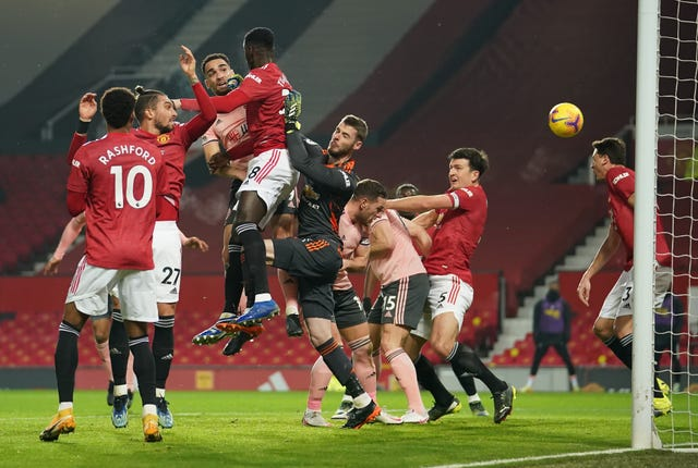 Manchester United v Sheffield United – Premier League – Old Trafford