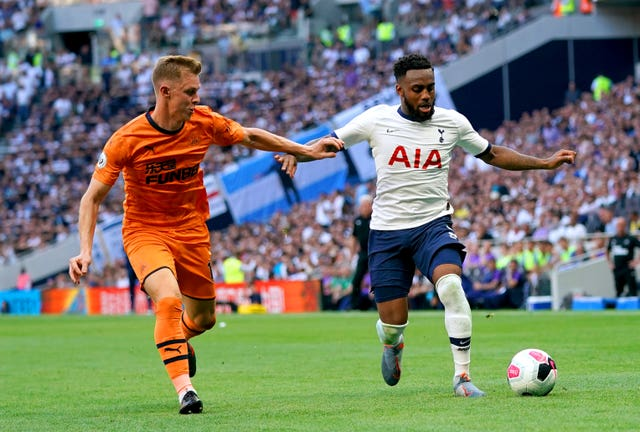 The left-back has started all four games for Spurs this season