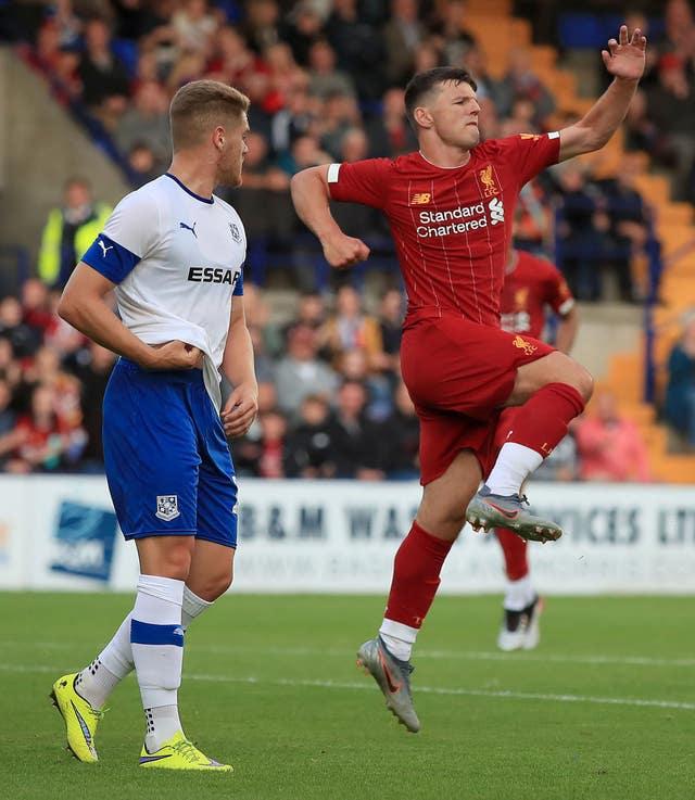 Tranmere Rovers v Liverpool - Pre Season Friendly - Prenton Park