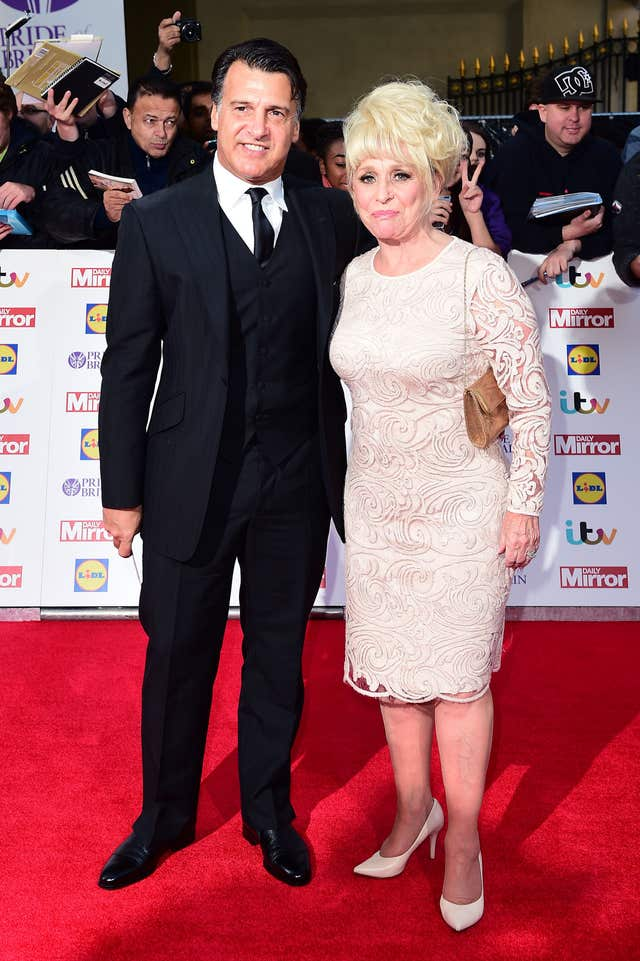 Barbara Windsor and husband Scott Mitchell