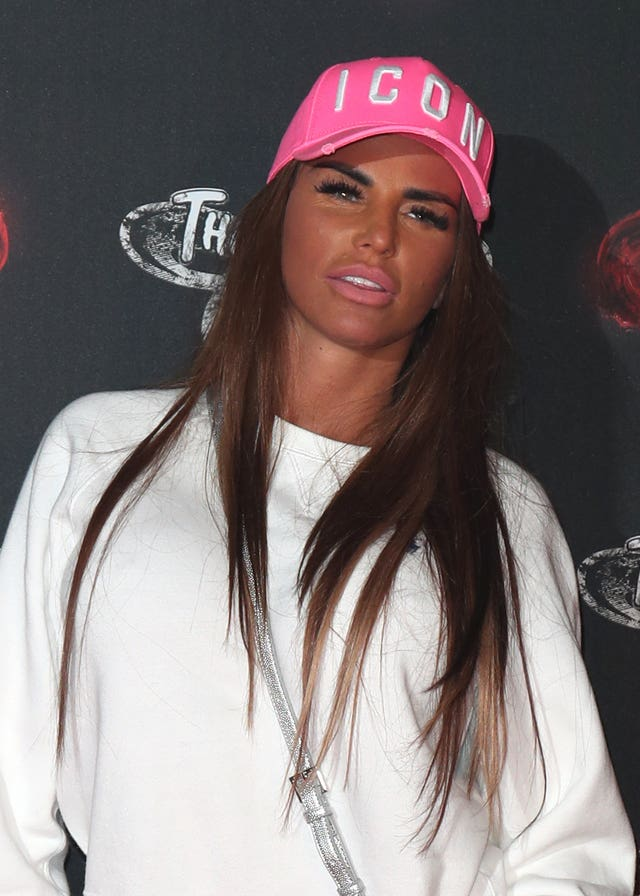 Katie Price bankruptcy hearing