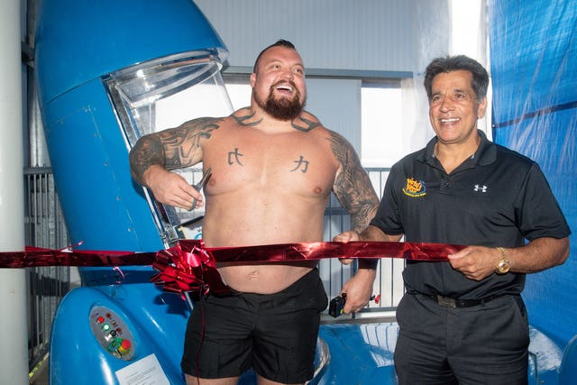 Eddie Hall Waterworld