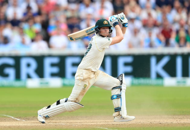 Steve Smith was in imperious form with the bat
