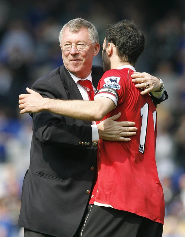 Ryan Giggs was a key member of Sir Alex Ferguson's all-conquering Manchester United team