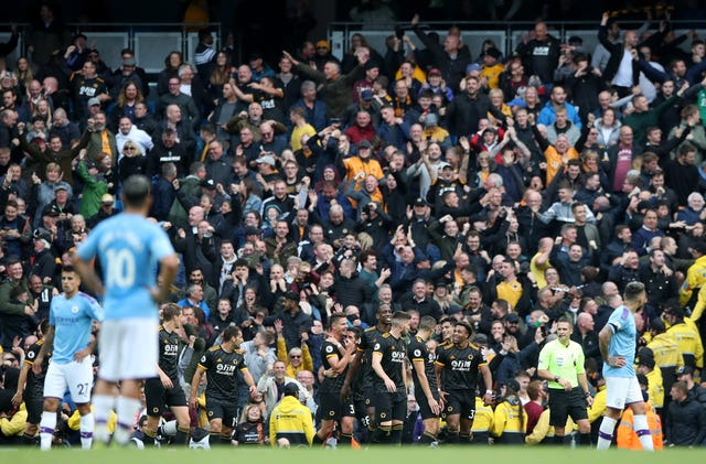 Wolves condemned City to their second defeat of the season