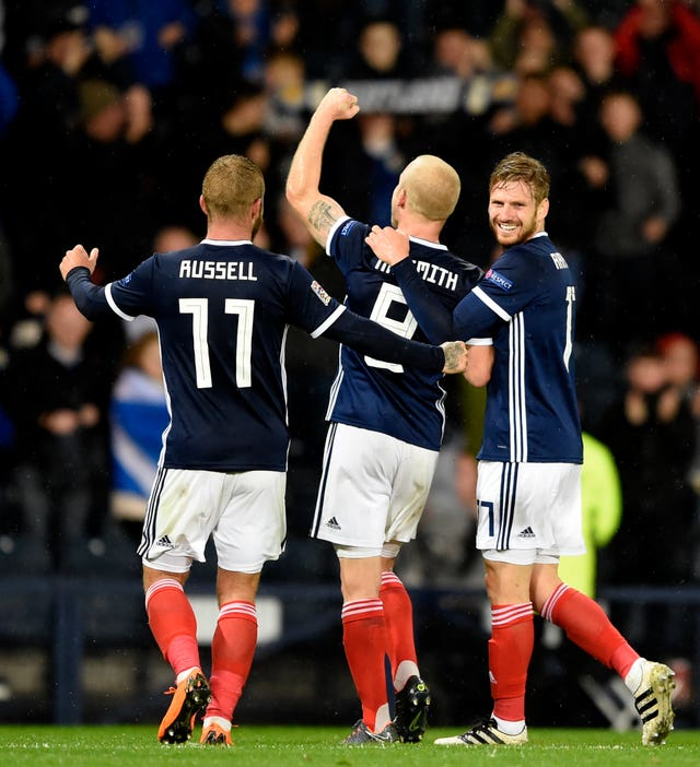 Scotland were comfortable winners in Glasgow